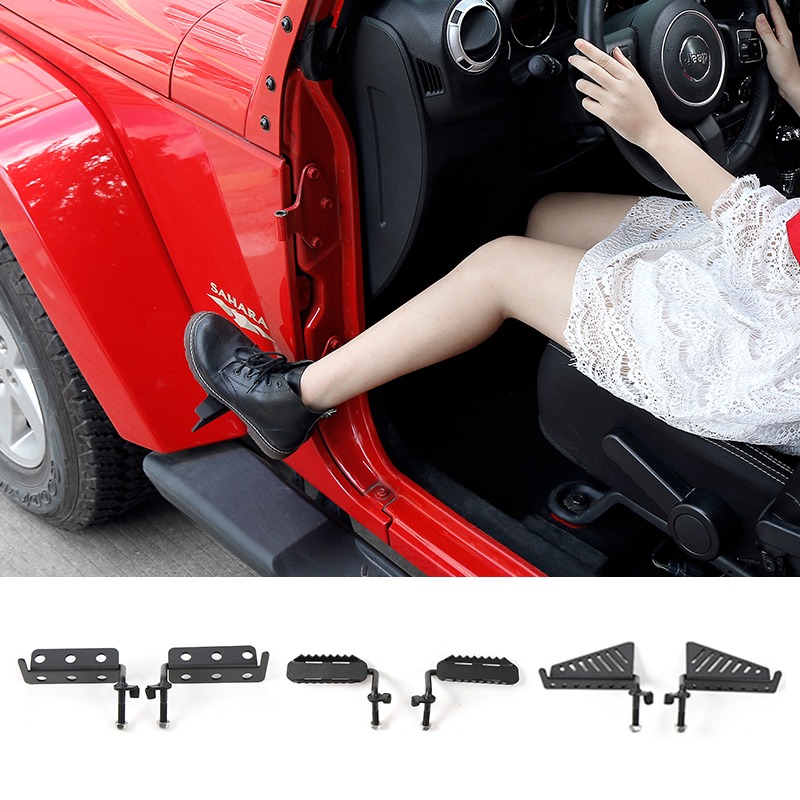 Mopai Car Exterior Side Door Foot Pegs Pedal Metal Foot