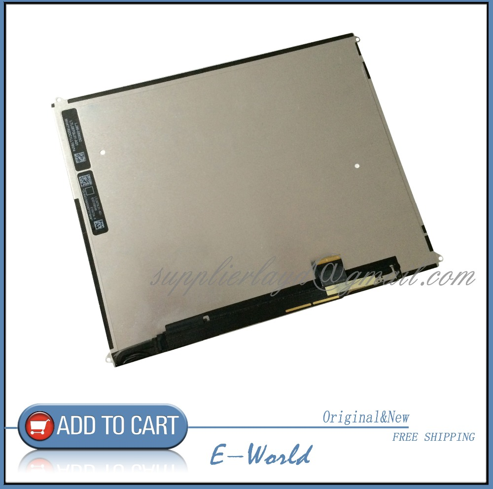Original 9.7inch LCD screen 821-1240-A For iPad 3 A1416 A1430 A1403 tablet pc free shipping free shipping original 9 inch lcd screen cable numbers kr090lb3s 1030300647 40pin