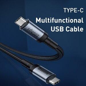 Image 2 - Baseus 100W USB כבל סוג C כדי סוג C מהר יותר מטען כבל USB כבל מהיר מטען חוט עבור סמסונג לxiaomi עבור Huawei