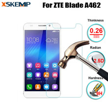 0.26mm 9H Anti-glare Tempered Glass For ZTE Blade A462 No Fingerprint Explosion Proof Premium Screen Protector Protective Film