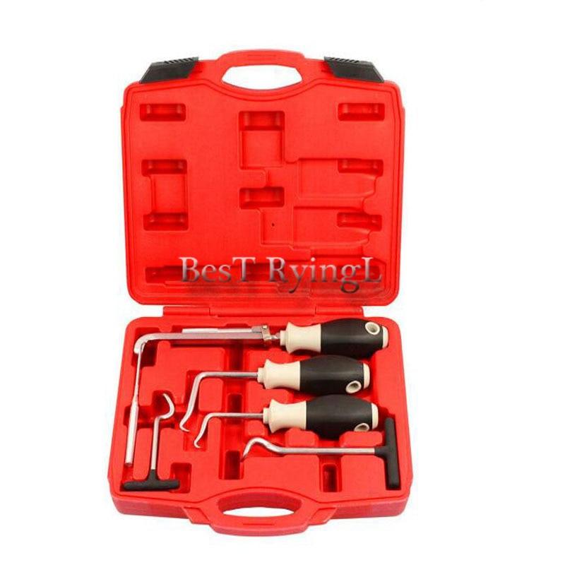 YG 6 pièces outils à main joint torique et ensemble d'outils de retrait d'extracteur de joint d'huile
