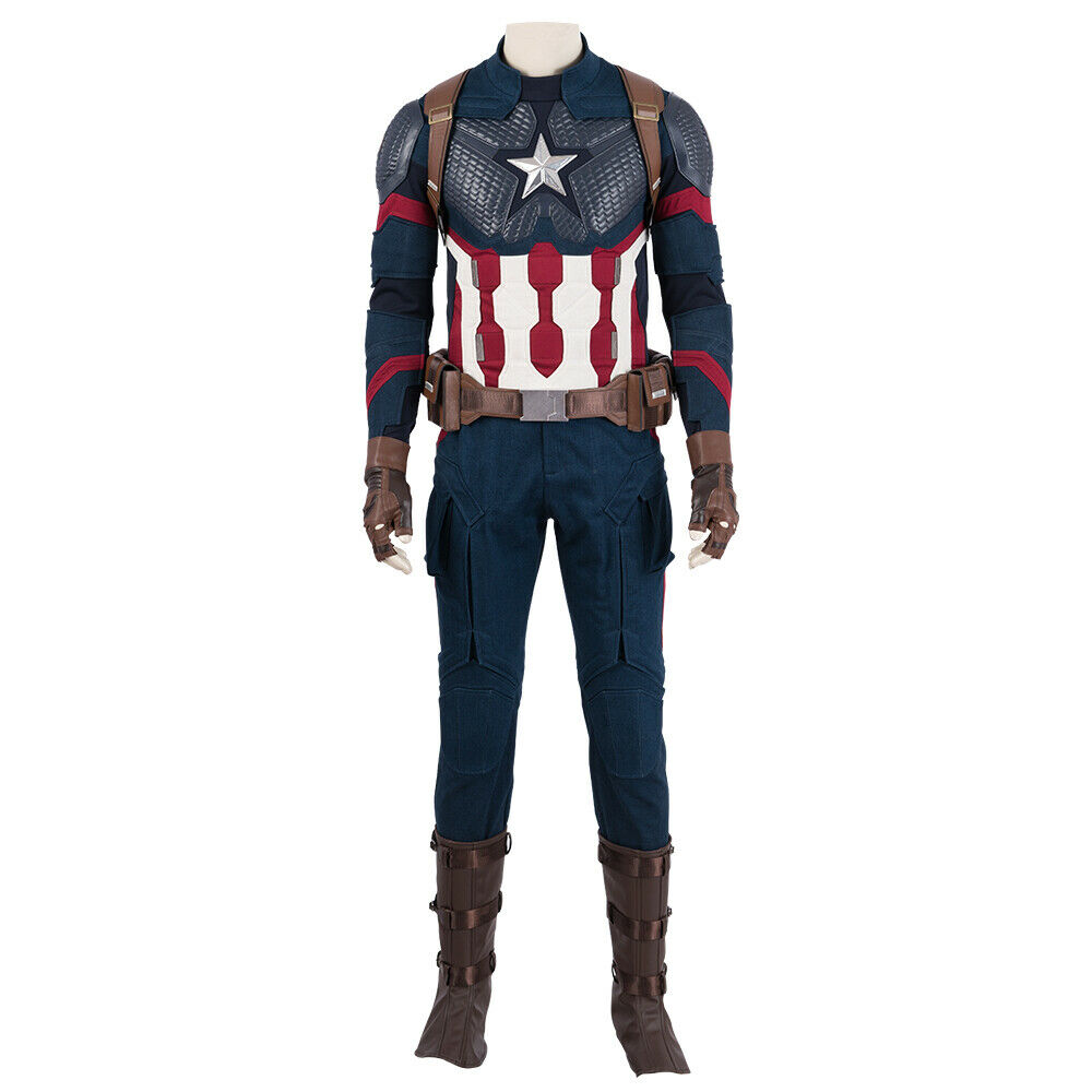 Cosplay Costume Avengers Endgame Captain America Custom