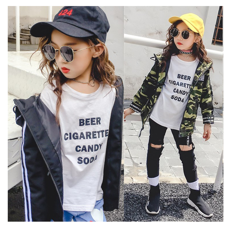 Aliexpress.com : Buy 2017 New Girls Trench Coat Fashion Camouflage ...