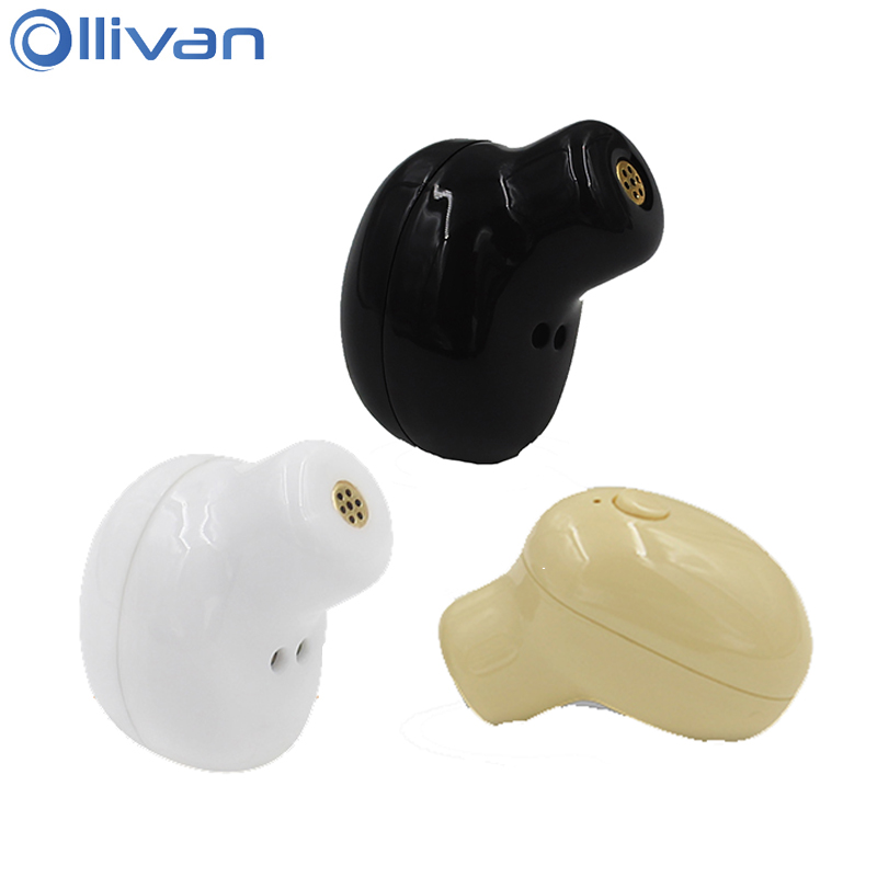 Ollivan Mini Wireless Earphone Universal Bluetooth 4.1 Headset Invisible Auriculares bluetooth In Ear Earbud For Phones Computer cinkeypro mini bluetooth headset 4 1 wireless invisible sport earphone car ear earbuds for iphone 7 6 computer universal