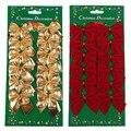 Curva bonita Bowknots Enfeite de Natal Decoração Da Árvore de Natal Festival Festa Em Casa Enfeites Enfeites de Decoração do Ano Novo N945