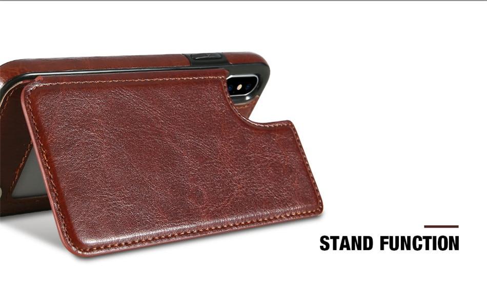 HTB1jKI0XJzvK1RkSnfoq6zMwVXa9 Retro PU Leather Case For iPhone 11 Pro X Xr XS max 6 Card Slot Cover For Samsung S10E S8 S9 S10 Plus S7 Edge Note 8 9 Back Capa