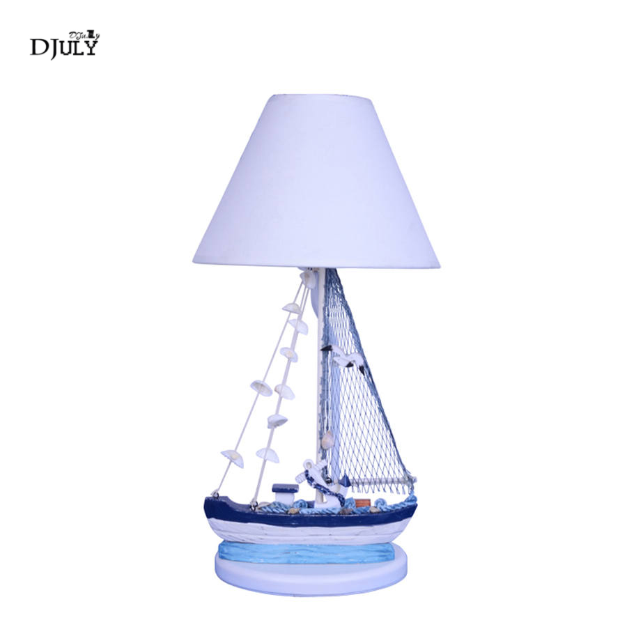 Mediterranean sailboat wood table lamp for living room study office children bedroom lamp creative home deco kids led desk lightMediterranean sailboat wood table lamp for living room study office children bedroom lamp creative home deco kids led desk light