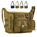 Men 1000D Nylon Messenger Shoulder Bag Military student bag Trekking Briefcase Laptop Pack