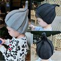 1 pc Cute Girls and boys Winter Children's Baby Kids Infant knitted cap pointed hat 4 colors clothing accessories
