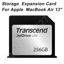 Leer 95 MB/S Escribir 60 MB/S Transcend JetDrive Lite 130 256 GB Flash Expansión De Almacenamiento De Tarjeta Memroy Card Para Apple Macbook Air 13″