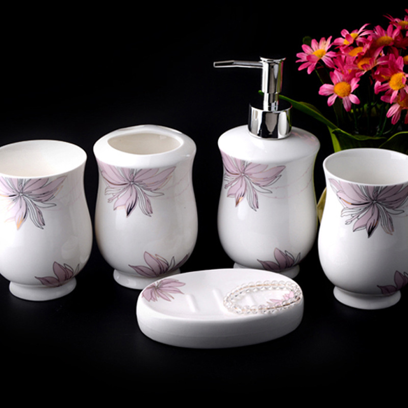 Buy simple and elegant accessories gold for Bathroom ware