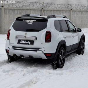 Image 3 - Tri Mishki HZX001 10.6*30 centimetri 1 4 pezzi sponsor ufficiale di gibdd car sticker auto adesivi per auto