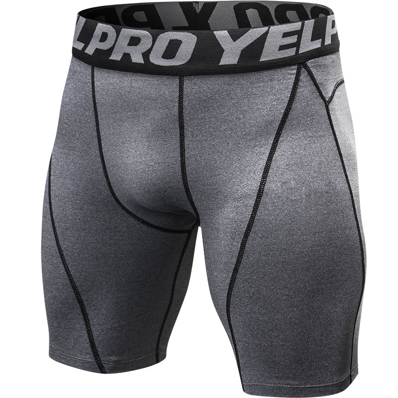2018 Summer Running Shorts Men Black Quick Dry Training Crossfit Fitness Compression Gym Shorts Tennis Mens Sport Short