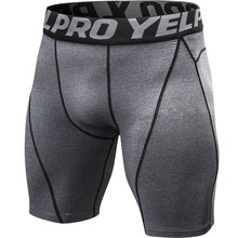 Running Shorts Tennis Compression Fitness Crossfit Quick-Dry Mens Summer Black