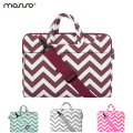 Mosiso Chevron 11.6 13.3 15.6 inch Laptop Shoulder Bag Strap for Macbook Pro Air 11 12 14 13 15 Asus Acer Notebook Handbag Case