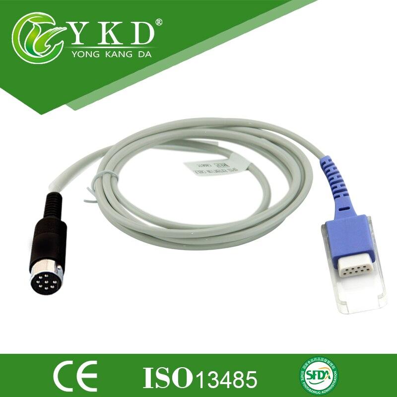 Кабель-адаптер для датчика Datascope SpO2, совместимый с 0012-00-0516-02