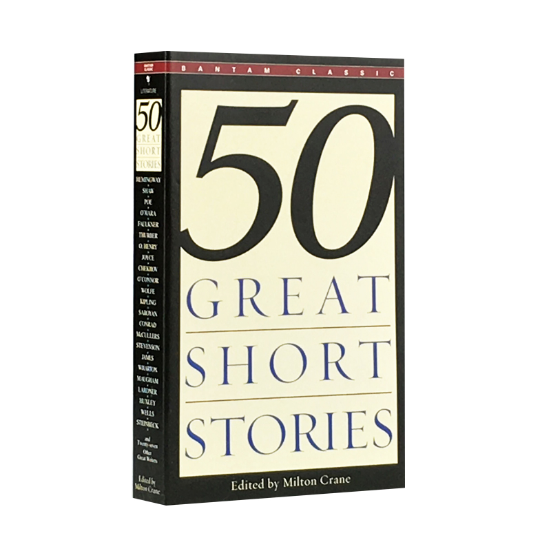 New Hot Fifty Great Short Stories English Fiction Book For Adult Children