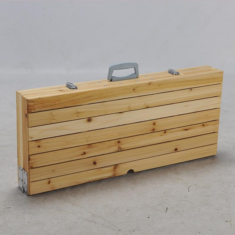 Muebles de jardín plegable juegos de mesa portátil mesas de madera y ...