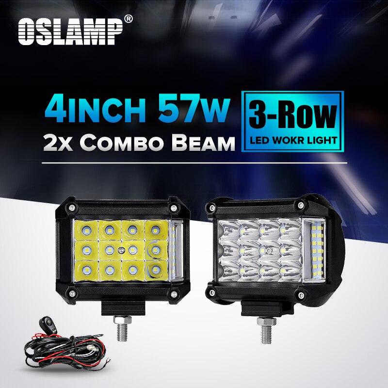 23Inch Led Light Bar Cube 4/'/' Pod For Polaris Sportsman//RZR//Ranger Ace EPs RZR4