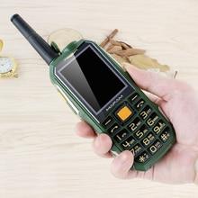 Sanfang teléfono móvil para ancianos, nuevo, superlargo, en espera, industria militar, gran personaje