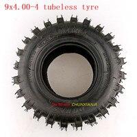 9X4.00 4 tubeless Tire Tube 9x4.00 4 Turf Rider Tread Tubeless Lawnmower Golf Go Cart ATV Pocket Bike Go Kart wheel tyre