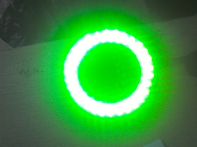 Groen Led Licht : Groene kleur led licht ring lamp bron v v w mm