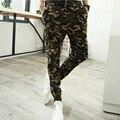Camo Joggers Pantalones Lápiz Moda Slim Fit Pantalones de Camuflaje Hombres Pantalones de Pista Nueva Llegada KH853402