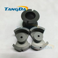 Tangda PM Type PM62 P62 soft ferrite core magnetic core + skeleton for transformer PC40 high frequency