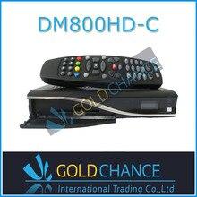 5 unids/lote DM800HD PVR receptor de satélite DVB-C sintonizador Dm800 receptor de Cable hd Sim2.10 300 MHz procesador envío gratis