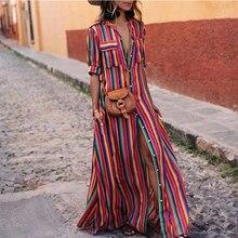 d40c0fedb9721 Buy long maxi button down dress and get free shipping on AliExpress.com