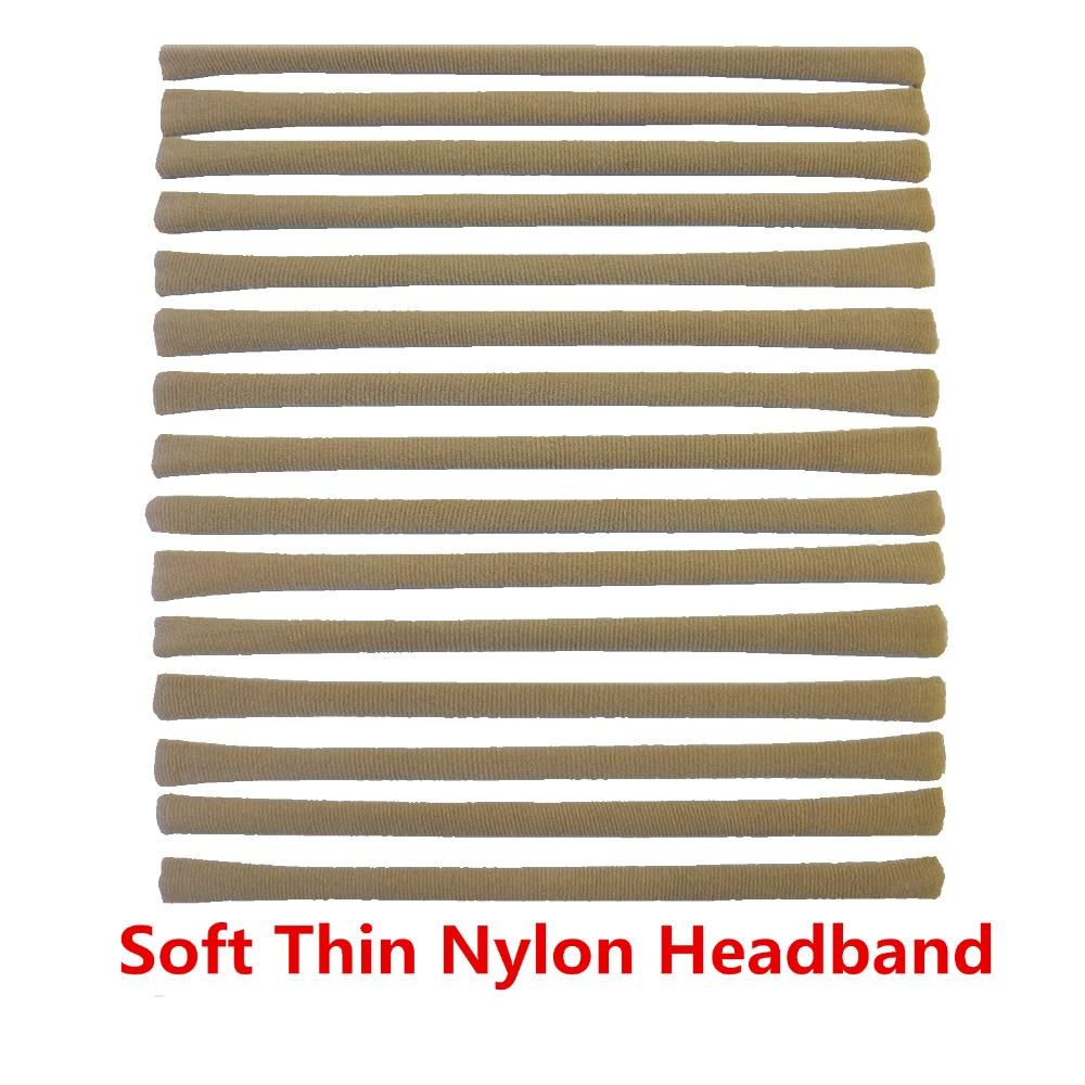 Soft Thin Nylon Headband Skinny Stretchy Kids DIY Hair Bows Elastic Headbands