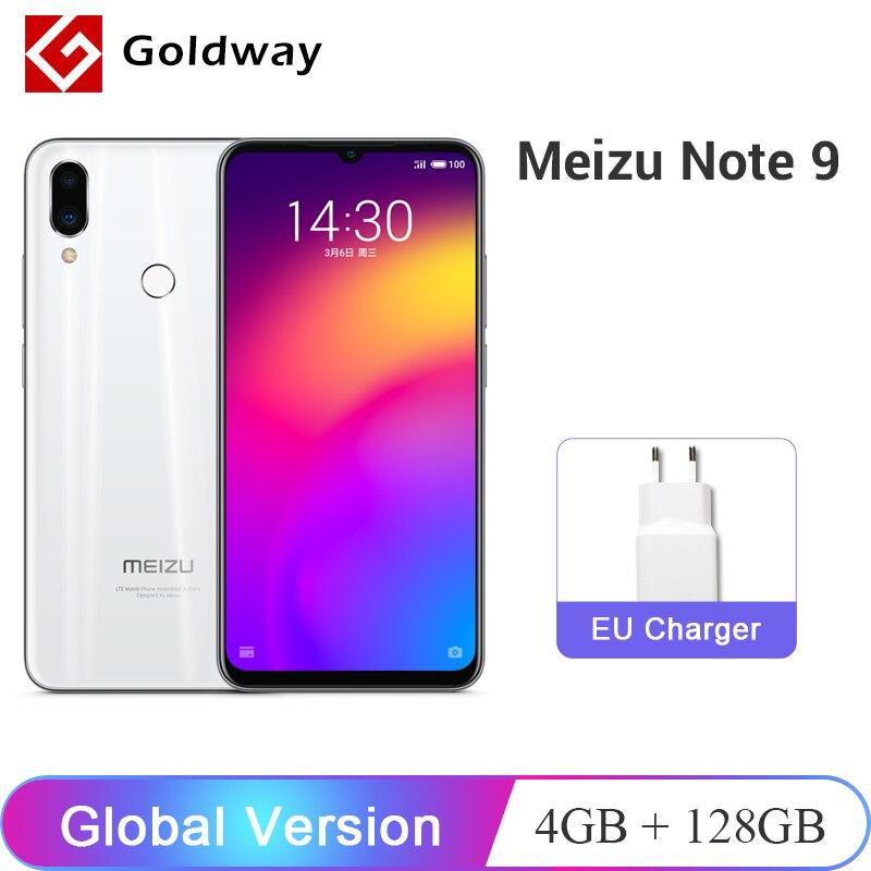 "Global Version Meizu Note 9 4GB 128GB Mobile Phone Snapdragon 675 Octa Core 6.2"" 48MP Camera Fingerprint Note9 Cellphone"