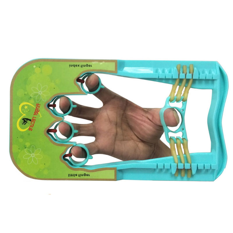 Doigt de Récupération de La Main Grip Attelle Pour Avc Hémiplégie Patient Doigt Force Formateur Auxiliaire Muscle Power Expander CCP071