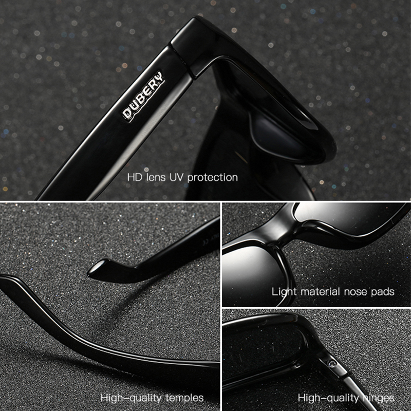 c67df464932 DUBERY Brand Luxury Sunglasses Men Sport Polarized Sun Glasses For Men  Coating Driving Shades Male Goggle Lentes De Sol Hombre-in Sunglasses from  Apparel ...