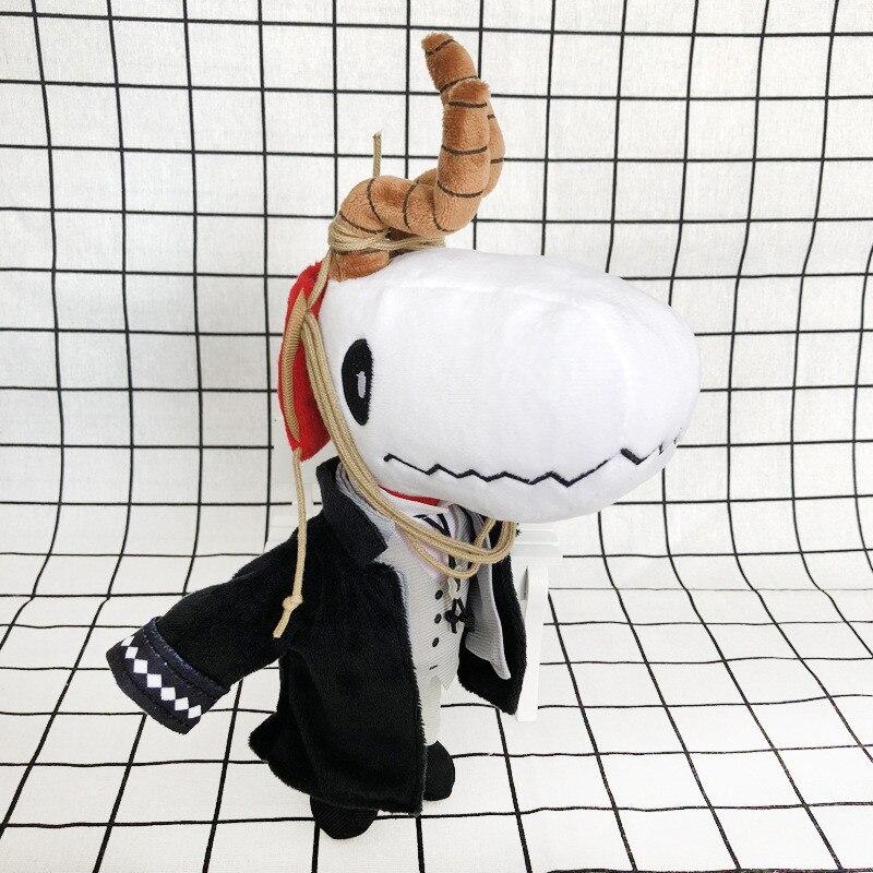 Anime Kore Yamazaki The Ancient Magus' Bride Mahoutsukai no Yome Elias Plush Toy Doll Cosplay Doll Toy Christmas Gift