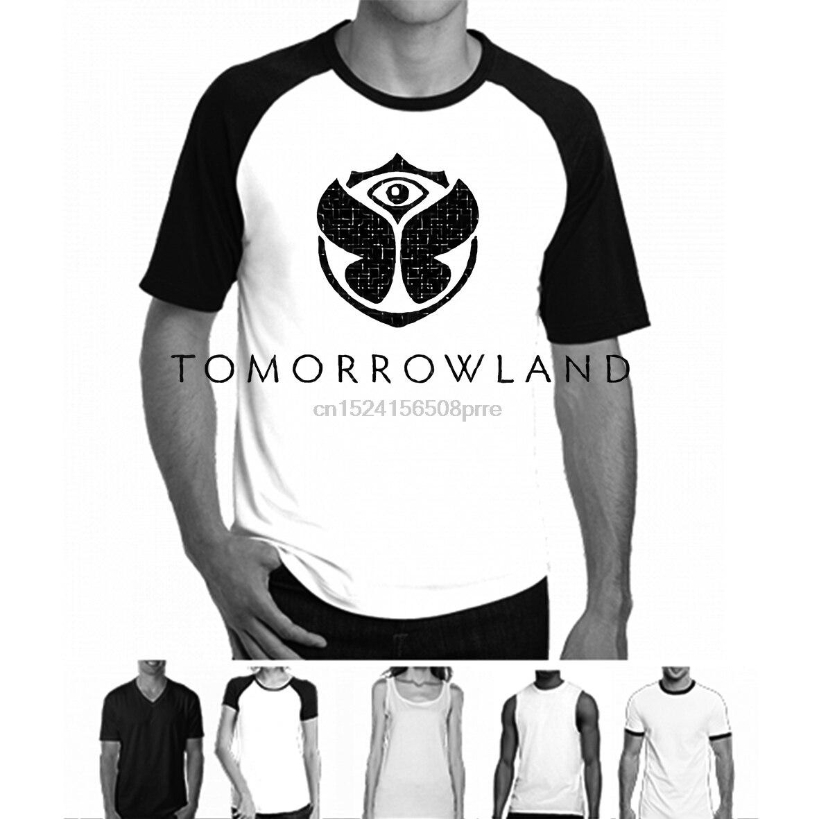 100% Cotton O-neck Custom Printed Tshirt Men T Shirt Tomorrowland - Tomorrowland Women T-shirt