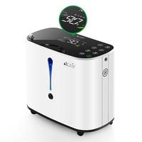 Pelvifine Oxygen Concentrator 1 6L/min Adjustable Portable Oxygen Machine Home Travel Use oxigeno medicoe AC110 220V Humidifiers