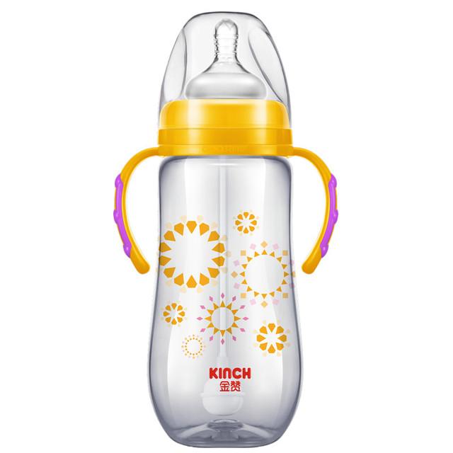 Copos Para Bebidas Automático Caule Verde Fluxo Médio Garrafa Bpa Livre Bebê Único Carregado Sólida Em Forma de Cabaça-Mamadeira Silicone