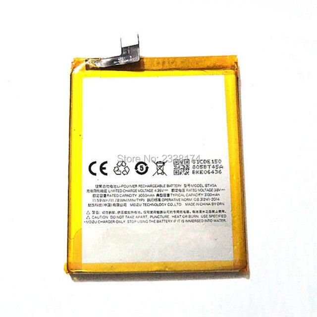 High Quality 3100mAh BT45A BT-45A Battery For Meizu pro 5 pro5 Batterij Bacteria  + Tracking Code