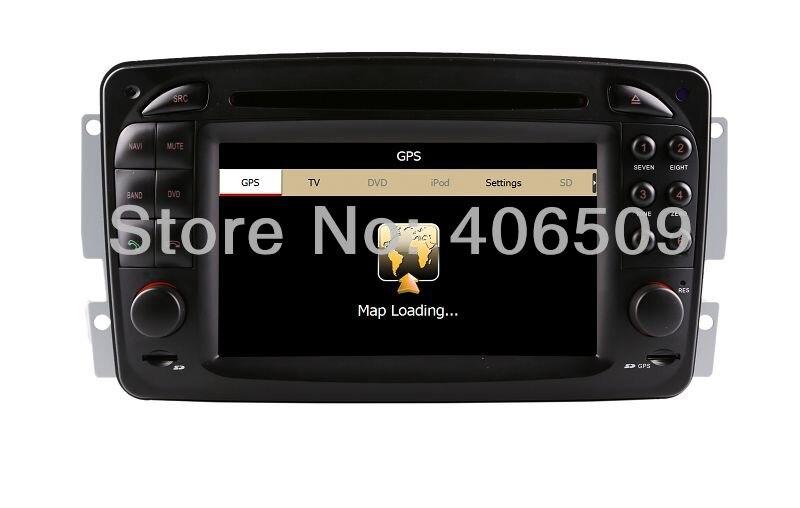 head unit car dvd player gps navigation for mercedes benz. Black Bedroom Furniture Sets. Home Design Ideas