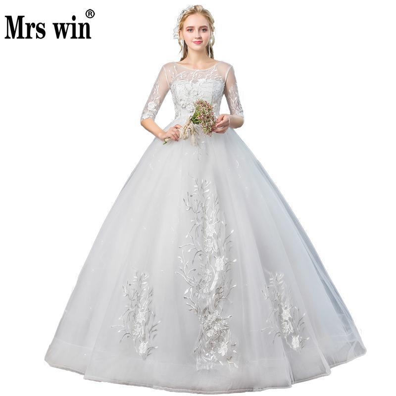 Vestido De Noiva 2018 Princess Wedding Dress Ball Gown Off: Princess Luxury Wedding Dresses 2018 New Mrs Win The