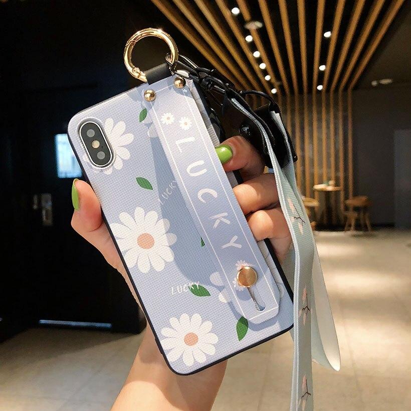 HTB1jKOrelCw3KVjSZFlq6AJkFXai Wrist Strap Phone Case for iPhone XS Max X XR Cover iPhone 7 8 Plus 6 6S 11 Pro Max Case Luxury Neck Lanyard iphone 6s case