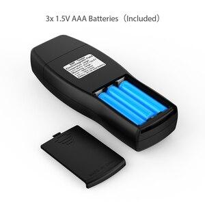 Image 5 - EMF מד כף יד מיני דיגיטלי LCD EMF גלאי קרינת שדה האלקטרומגנטי Tester Dosimeter בודק דלפק