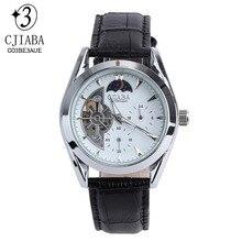 Zegarki Meskie Automatico Relogio Masculino hombres Viento de la Mano mecánica Relojes de Pulsera de Lujo Famosa Marca CJIABA luxus uhren