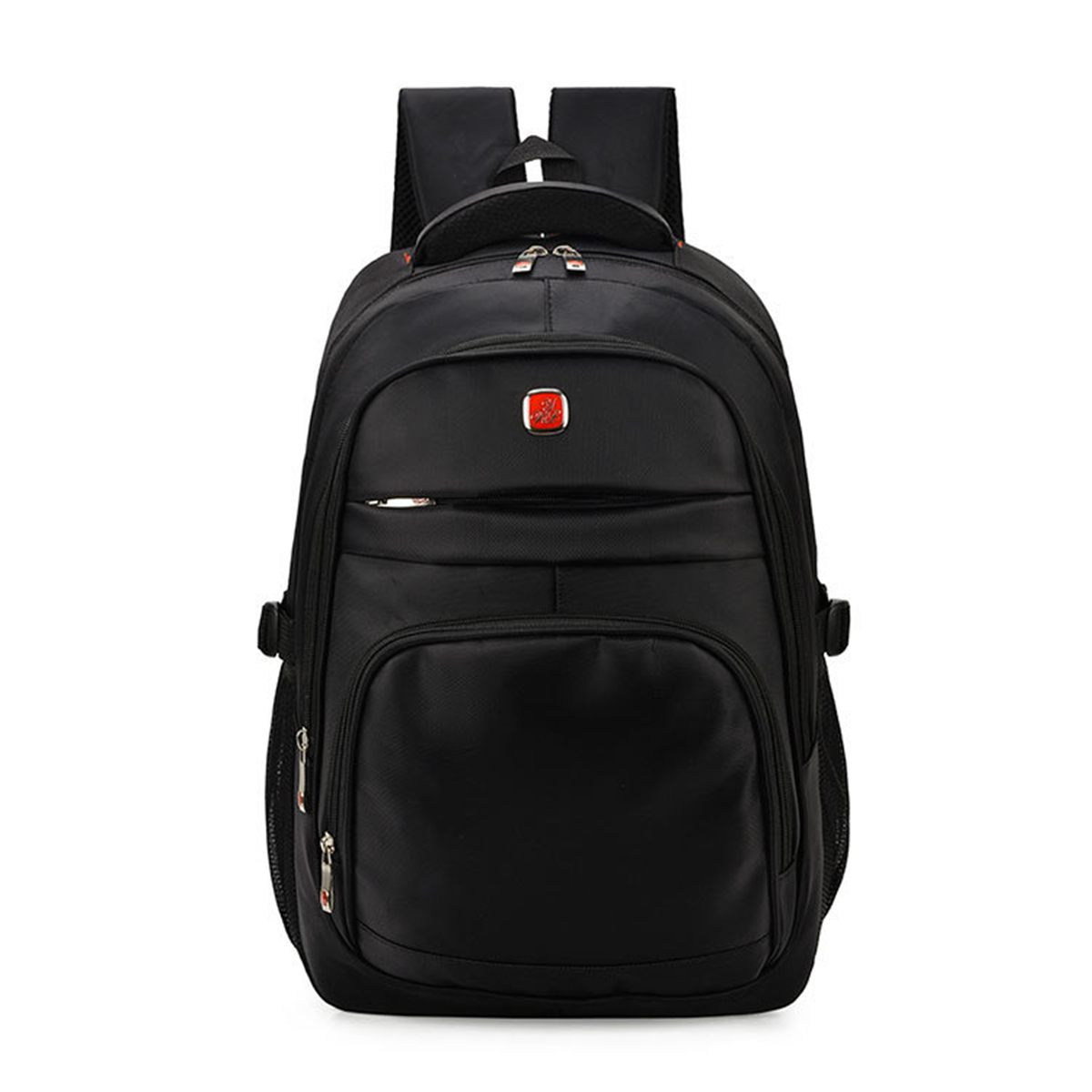 Fashion Men 15 Inch Laptop Backpacks Feminine Nylon Rucksack Casual Black Backpack Schoolbag For Teenagers Male Travel Mochilas