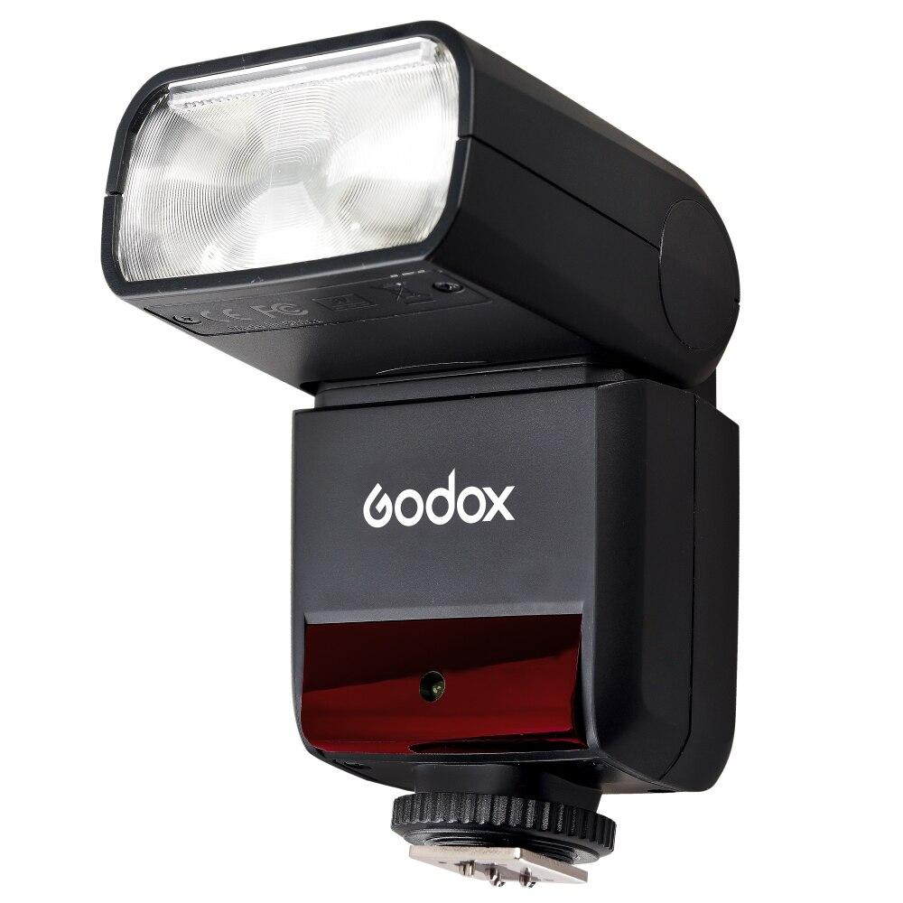 Flash GODOX TT350C d'origine 2.4G HSS GN36 TTL Mini flash Speedlite + XPRO-C pour Canon EOS 800D 650D 600D 750D 77D M5 M3 - 2