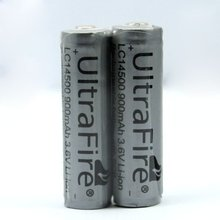 8pcs/lot TrustFire 14500 3.7V 900mAh Rechargeable Battery Lithium Batteries with Protected PCB For Flashlight Torch
