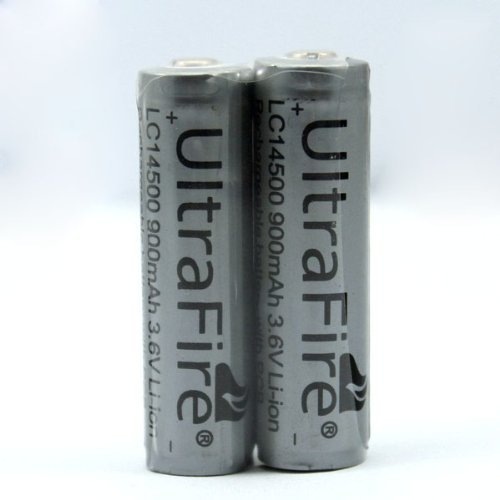 8pcs/lot TrustFire 14500 3.7V 900mAh Rechareable Battery Lithium Batteries with Protected PCB For Flashlight Torch ...