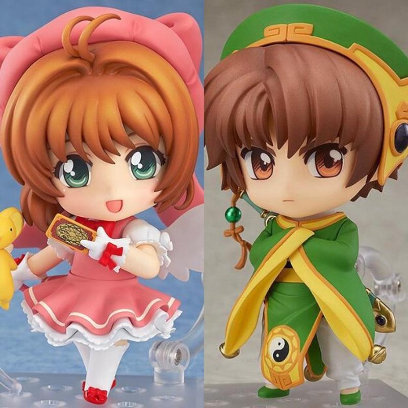 400 763 Cardcaptor Sakura Sakura Kinomoto Li Syaoran Action Figure Toy