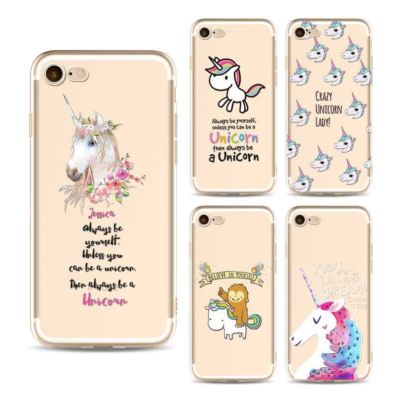 custodia iphone 6s unicorno